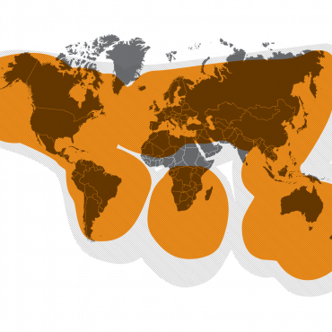 SPOT Gen4 works around the world, including virtually all of the continental United States, Canada, Mexico, Europe, Australia, New Zealand portions of South America, portions of North and South Africa, North-East Asia and hundreds of miles offshore of these areas.
